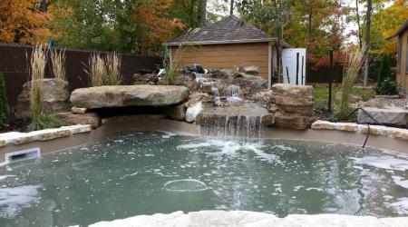 Image de Création d'une piscine en béton